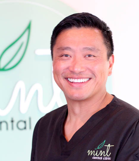 Dr. Nicholas Ng, senior burlington dentist at mint dental clinic, profile photo
