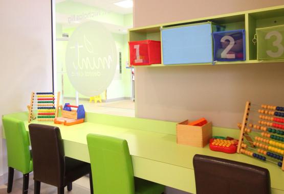 Burlington Dentist - Mint Dental Clinic Kids Play Area